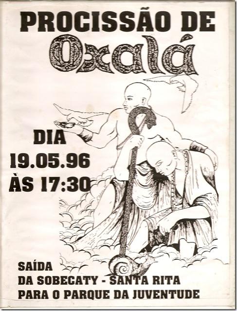 121 - Cartaz Procissão de Oxalá