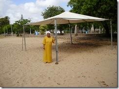 Montagem da Carreata e do Xerê da Mãe Oxum Praia da Alegria - 2011 (4)