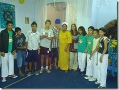 Visita ao Ilê de Iemanjá da Mãe Carmen de Oxala Mestre, professores e oficinando de Capoeira - Guarda Negra (18)
