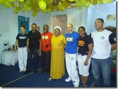 Visita ao Ilê de Iemanjá da Mãe Carmen de Oxala Mestre, professores e oficinando de Capoeira - Guarda Negra (8)
