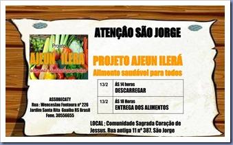 ATENÇÃO São Jorge slide