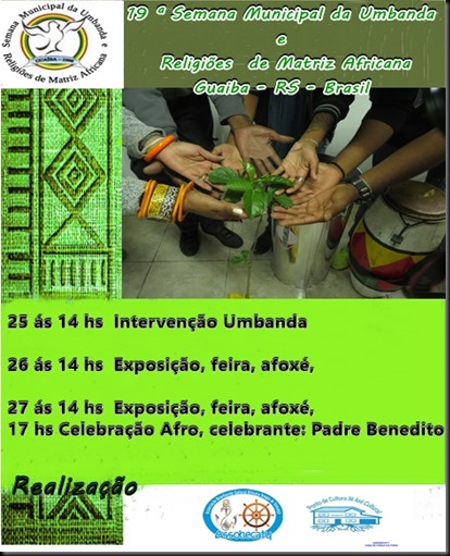 convite semana Umbanda
