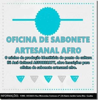 oficina de sabonete artesanal afro
